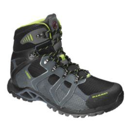 Mammut Women's Comfort High GTX Hiking Boots - Black/Grey