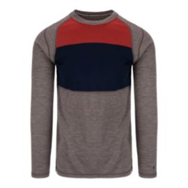 SmartWool NTS Mid 250 Colour Block Men's Long Sleeve Crew