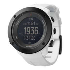 Suunto Ambit 3 Vertical GPS Watch - White