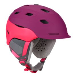 Smith Vantage Women's Matte Fuschia Ski Helmet - 16/17