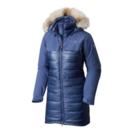 Columbia Titanium HeatZone 1000 TurboDown Women's Long Hooded Parka