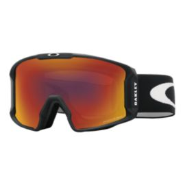 Oakley Line Miner Matte Black Goggles with Prizm Torch Lenses