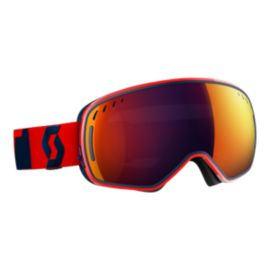 SCOTT LCG Fluo Red Ski Goggles