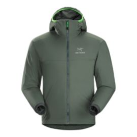 Arc'teryx Men's Atom AR Insulated Hooded Jacket - Nautic Grey - Prior Season