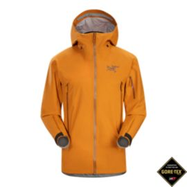 Arc'teryx Men's Sabre Gore-Tex Shell Jacket - Oak Barrel Brown - Prior Season
