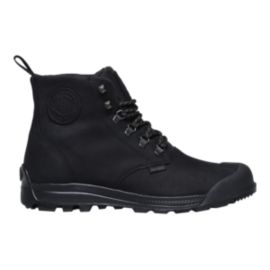 Palladium Men's Pampatech High Leather Waterproof  Boots - Black