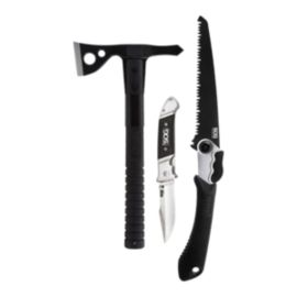 SOG FastHawk, Folding Saw, Fielder G10 Combo Kit