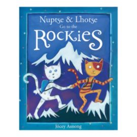 Nuptse and Lhotse Go To The Rockies Children's Hardcover Book