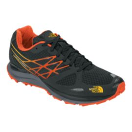The North Face Men's Ultra Cardiac Trail Running Shoes - Black/Yellow