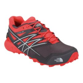 The North Face Women's Ultra MT GTX Trail Running Shoes - Red/Grey