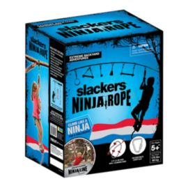 Slackers Ninjaline 8' Climbing Rope with Foot Holds