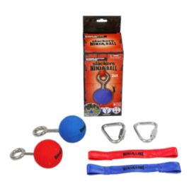 "Slackers Ninjaline 2.5"" Balls with Hardware - 2 Pack"