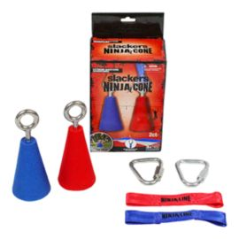 "Slackers Ninjaline 4"" Cones with Hardware - 2 Pack"