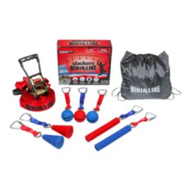 Slackers Ninjaline 30' Pro 9 Obstacle Combo Kit