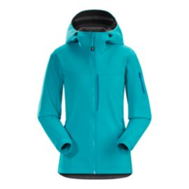 Arc'teryx Gamma MX Women's Hooded Jacket - Cerulean Blue