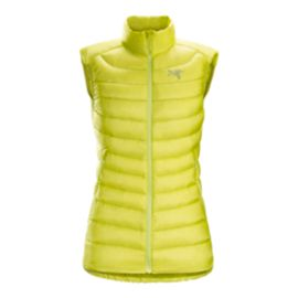 Arc'teryx Women's Cerium LT Down Insulated Vest - Euphoria Yellow