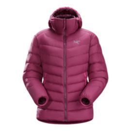 Arc'teryx Women's Thorium AR Down Hooded Jacket - Light Chandra Pink