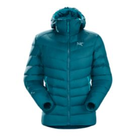 Arc'teryx Women's Thorium AR Down Hooded Jacket - Oceanus Blue