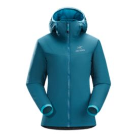Arc'teryx Women's Atom LT Insulated Hooded Jacket - Oceanus Blue - Prior Season