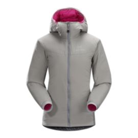 Arc'teryx Atom LT Insulated Women's Hooded Jacket - Brushed Nickel