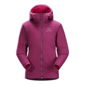 Arc'teryx Atom LT Insulated Women's Hooded Jacket - Lt Chandra Pink