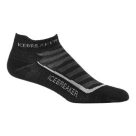 Icebreaker Men's Run+ Ultra Light Cushion Micro Socks