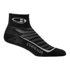 Icebreaker Men's Run+ Ultra Light Cushion Mini Socks