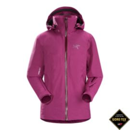 Arc'teryx Women's Tiya Gore-Tex Insulated Jacket - Light Chandra Pink