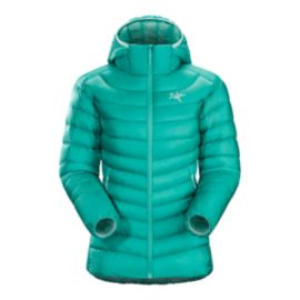 Arc'teryx Cerium LT Women's Hooded Down Jacket - Castaway Turquoise