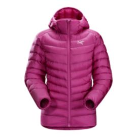 Arc'teryx Women's Cerium LT Down Hooded Jacket - Violet Wine - Prior Season