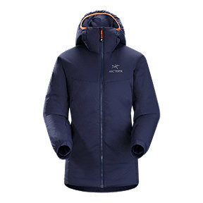 Arc'teryx Atom AR Women's Hooded Insulated Jacket - Mariana Purple