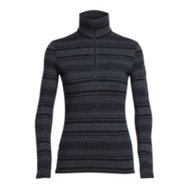 Icebreaker 260 Vertex Icon Fairisle Women's Long-Sleeve Half-Zip Top