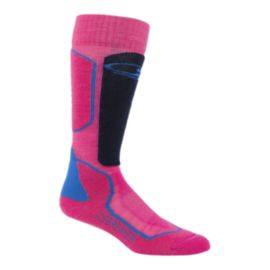 Icebreaker Women's Ski+ Medium Cushion Over The Calf Ski Socks