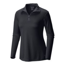 Mountain Hardwear Wicked Women's Long Sleeve Zip Top