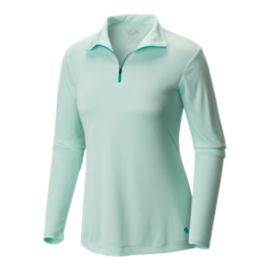 Mountain Hardwear Women's Wicked Long Sleeve Zip Top