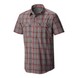 Mountain Hardwear Canyon Plaid Men's Short Sleeve Shirt
