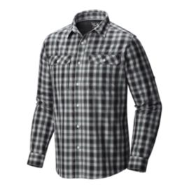 Mountain Hardwear Men's Canyon Plaid Long Sleeve Shirt