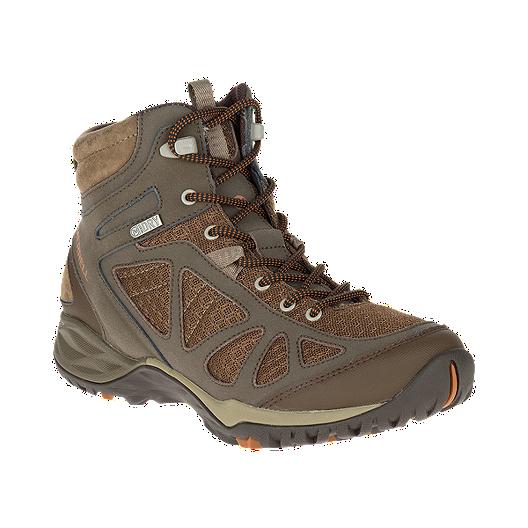 3a893a1a05aa Merrell Women s Siren Q2 Sport Mid Waterproof Hiking Boots - Slate Black