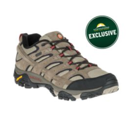 Merrell Men's Moab 2 Waterproof Hiking Shoes - Bark Brown