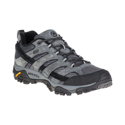 Merrell Men's Moab 2 Wide Waterproof Hiking Shoes - Granite