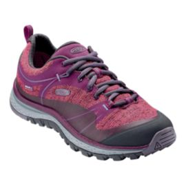 Keen Women's Terradora Waterproof Hiking Shoes - Dark Purple