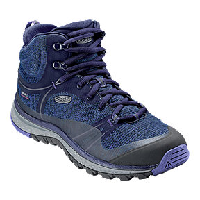 Keen Women's Terradora Mid Waterproof Day Hiking Boots - Astral Aura/Liberty