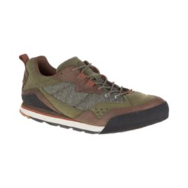 Merrell Men's Burnt Rock Shoes - Grey/Green/Orange