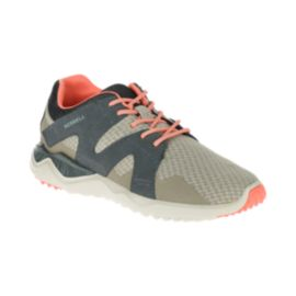 Merrell Women's 1Six8 Lace Shoes - Grey/Tan
