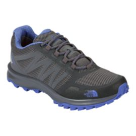 The North Face Women's Litewave Fastpack Waterproof Hiking Shoes - Grey/Blue