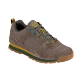 The North Face Men's Back To Berkeley Redux Low Casual Shoes - Brown/Green