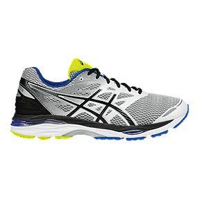 ASICS Men's GEL Cumulus 18 Running Shoes GreenSilverBlack