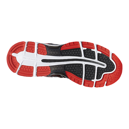 separation shoes 0c6ac 26b9e ASICS Men's Gel Nimbus 19 Running Shoes - Red/Black/Silver ...