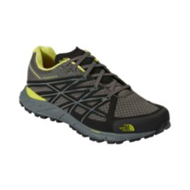 The North Face Men's Ultra Endurance Trail Running Shoes - Grey/Black/Yellow