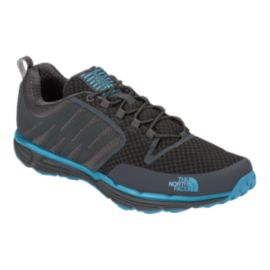 The North Face Men's LiteWave II TR Trail Running Shoes - Black/Grey/Blue